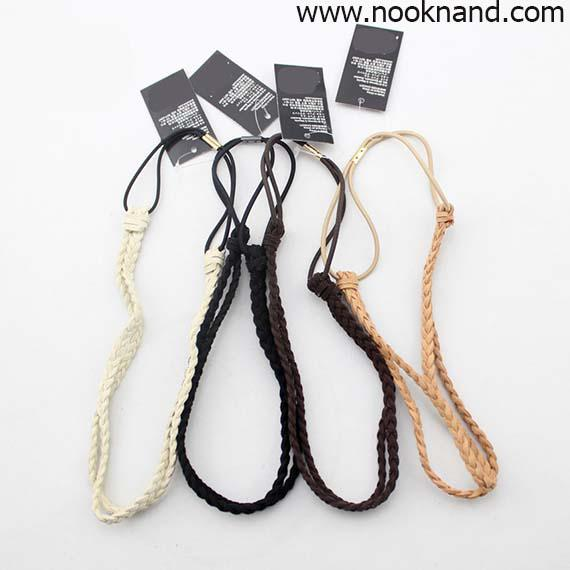 ���Ҵ����¤�� Braided Hairband